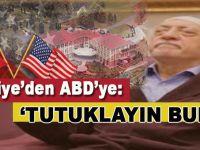 Adalet Bakanı Bozdağ, ABD'li mevkidaşından FETÖ elebaşının tutuklanmasını istedi!