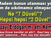 """Geri kalan """"düveller"""" nerede Kemal?"""
