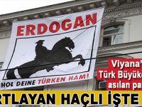 """Batı'da """"hortlayan Haçlı"""" Türk Büyükleçiliğine saldırdı; """"Erdoğan Türklerini geri al!"""""""