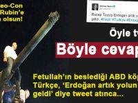 FETÖ'nün Amerikan köpeği Neo-Con Mişel, Erdoğan'ı tehdit eden türkçe tweet atınca, sosyal medya sarsıldı!