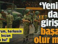 Yeni bir darbe girişimi başarılı olur mu? Önceki gece Ankara'da tuhaf şeyler oldu!