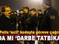 Sakarya'da gece 1150 Polis 'acil' koduyla göreve çağrıldı!