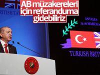 Cumhurbaşkanı: AB müzakereleri için referanduma gidebiliriz