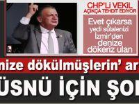 """""""Denize dökülmüşlerin"""" artığı CHP'li Hüsnü Bozkurt için savcılık harekete geçti!"""
