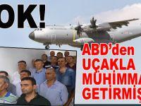 Darbeciler Akıncı Üssü'ne  ABD'den uçakla silah taşımışlar!