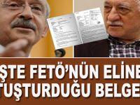 İşte FETÖ'nün CHP'nin eline tutuşturduğu belgeler!