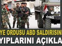 Suriye ordusu ölü sayısını açıkladı!