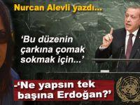 """Nurcan Alevli yazdı; """"Erdoğan ne yapsın tek başına?"""""""