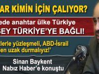 """Sinan Baykent: """"ABD Suriye'ye Esed'i devirmek için değil, Kürdistan'ı -İkinci İsrail'i- kurmak için girecektir"""""""
