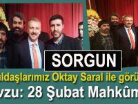 Sorgun'da gönüldaşlarımız Oktay Saral'la 28 Şubat mahkumlarını görüştü!!