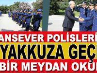 """""""Vatansever polislerimiz ve savcılarımız teyayakkuza geçin! Bu bir meydan okuma!"""""""