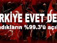 Türkiye 'Evet' dedi ve sistem değişti!