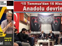 "15 Temmuz'dan 16 Nisan'a ""Anadolu devrimi!"""
