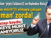 """Medyadaki kavgaya Erdoğan son noktayı koydu; """"Tekkeye mürit aramıyoruz!"""""""