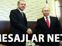 Erdoğan-Putin görüşmesi; İlk mesajlar çok net!