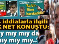 """Abdullah Gül, hakkındaki iddialarla ilgili çok net konuştu; """"Mııııy mıy mıy! Mıymıy da mıy mıy..."""""""