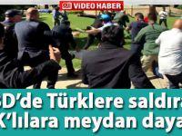ABD'de Türklere saldıran PKK yandaşlarına meydan dayağı!