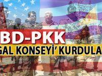 """ABD-PKK/PYD ittifakı """"İşgal Konseyi"""" kurdu!"""