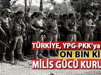 Türkiye, YPG-PKK'ya karşı on bin kişilik milis gücü kuruyor!