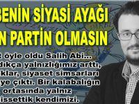 """""""Darbenin siyasi ayağı senin partin olmasın Kemal Bey"""""""