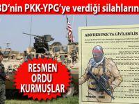 İşte ABD'nin PKK'ya verdiği silahların listesi; adamlar resmen ordu kurmuşlar!
