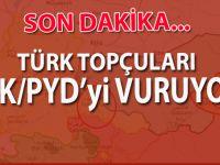 Son dakika; TSK, Afrin'i-YPG-PKK'yı vuruyor!
