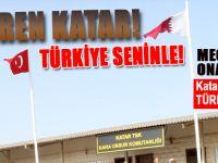 Diren Katar; Türkiye seninle! 5 Bin Türk Askeri Katar'a konuşlanıyor!