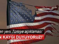 """ABD'den Türkiye açıklaması: """"Derin kaygı duyuyoruz!"""""""