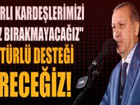 """Cumhurbaşkanı Erdoğan: """"Katar'ı yalnız bırakmayacağız!"""""""