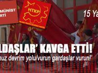 Komünist yoldaşlar arasında bıçaklı kavga: Yaralılar var