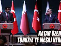 """""""Katar üzerinden Türkiye'ye mesaj verdiler!"""""""