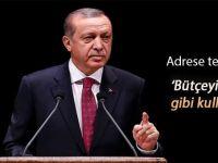 Cumhurbaşkanı Erdoğan: Kültür sanat faaliyetlerinde bütçeyi doğru kullanın