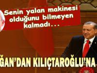 Erdoğan'dan Kılıçtaroğlu'na yanıt