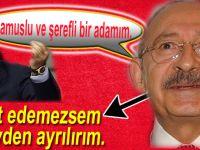 Kılıçdaroğlu'nu istifaya çağırıyorum...