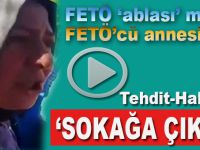 Bu azgınlık ve cesaret nerden; FETÖ'cü kadın sokağa çağırıyor!