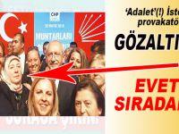 'Türkiye'ye ihanet yürüyüşü'ndeki provakatör kadın gözaltında!