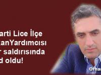 AK Parti İlçe Başkan Yardımcısı Orhan Mercan evinin önünde vuruldu!