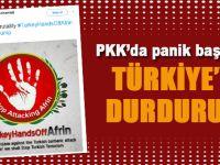 PKK'da panik başladı; Türkiye'yi durdurun!