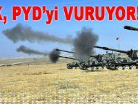TSK, PYD'yi vuruyor!