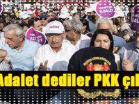 """""""Adalet dediler PKK çıktı!"""""""