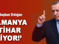 """Cumhurbaşkanı Erdoğan: """"Almanya intihar ediyor!"""""""