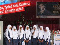 """Sri Lanka'da """"Şehit Halil Kantarcı Yetimhanesi"""" hizmete açıldı"""