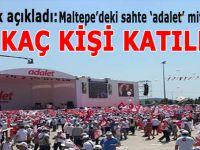 Valilik açıkladı; Kılıçdaroğlu'nun mitingine kaç kişi katıldı?