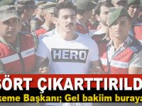 Mahkemede 'Hero' yazılı tişört gerginliği!