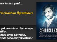 Av. Ali Rıza Yaman yazdı: Bir Halil'in/Dost'un Öğrettikleri