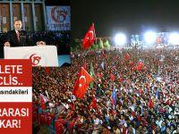 Cumhurbaşkanı Erdoğan; Darbenin arkasındakileri söylemeye kalksam uluslararası kriz çıkar!