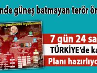 Üzerinde güneş batmayan terör örgütü; 7 gün 24 saat Türkiye'de kaos planı hazırlıyorlar!