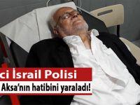 İşgalci İsrail polisi Mescid-i Aksa hatibi Şeyh Sabri'yi yaraladı