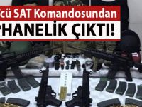 FETÖ'cü eski SAT komandosu Levent Özcan'ın bodrumundan cephanelik çıktı
