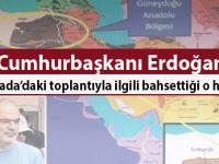 Erdoğan'ın Büyükada'da yapılan toplantıyla ilgili; 'Masanın üstünde ne tür haritalar olduğunu polisimiz tespit etti' dediği o harita!